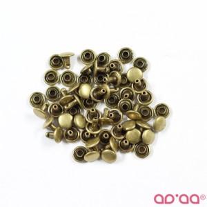 Botão Rapido 7mm – Bronze