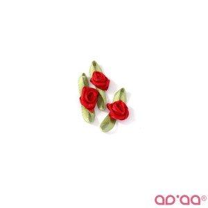 Flor Vermelho 2cm