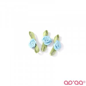 Flor Azul Claro 2cm