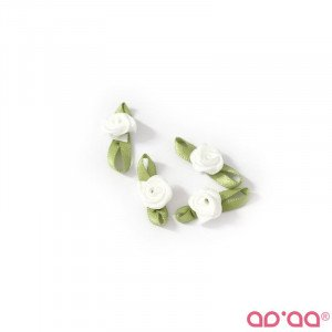 Flor Branca 2cm