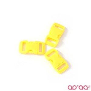 Fecho Plástico Amarelo 1cm