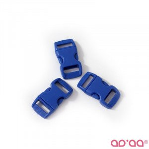 Fecho Plástico Azul Escuro 1cm