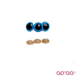 Olhos Azul 8mm