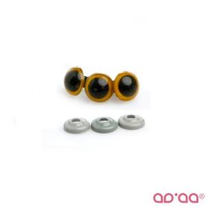 Olhos Amarelo 18mm