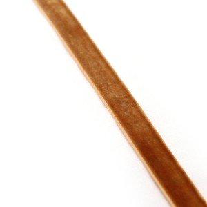 Fita Veludo Castanho Claro – 1.5cm