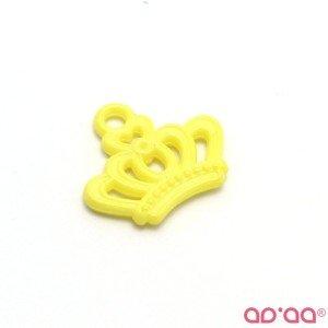 Cabochon Coroa Amarelo – 23mm