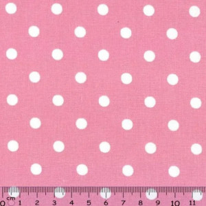 White dots in Pink