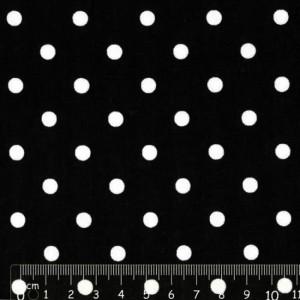 White dots in Black