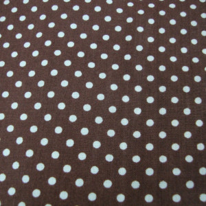 White dots in Brown