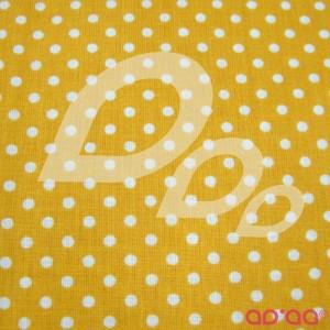 White dots in dark yellow Laminated