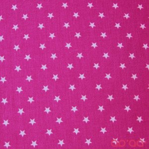 White big stars in pink