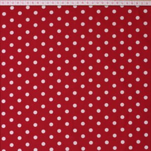 Graffic Dots Red 8mm