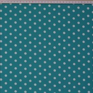 Graffic Dots Turquoise 8mm