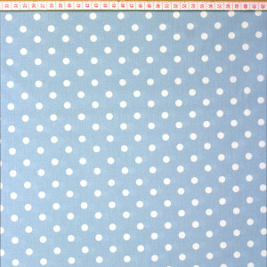 Graffic Dots Light Blue 8mm