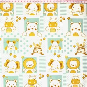 Animais da Selva Baby Branco