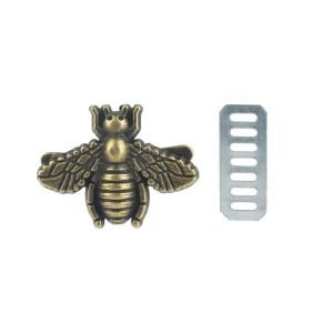 Aplicação Abelha – Bronze 19mm