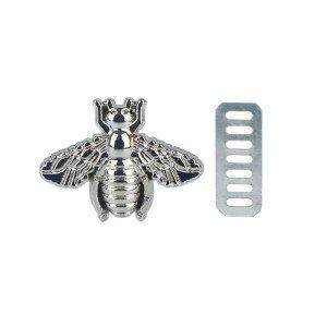Aplicação Abelha – Prata 19mm