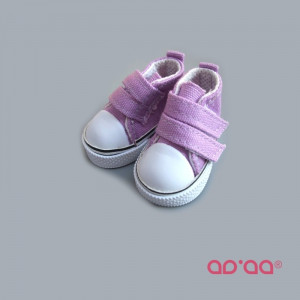 Lilac sneakers